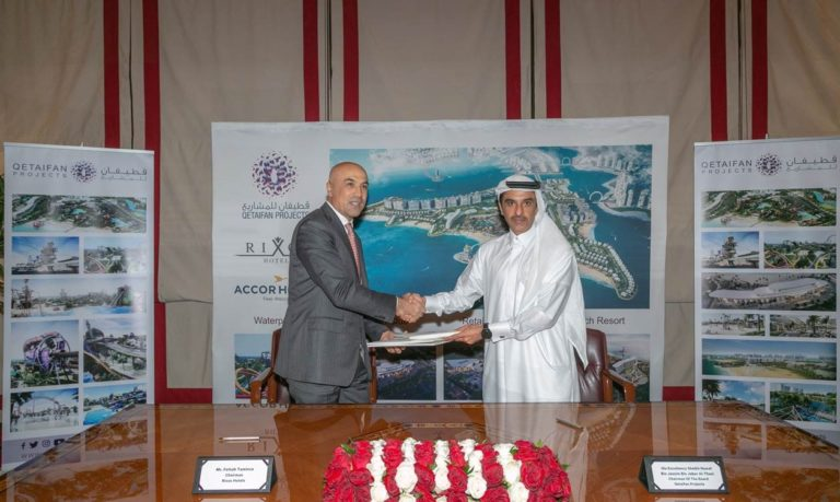 Qetaifan Projects and Rixos Sign MOU to debut operations of various projects in Qetaifan Island North
