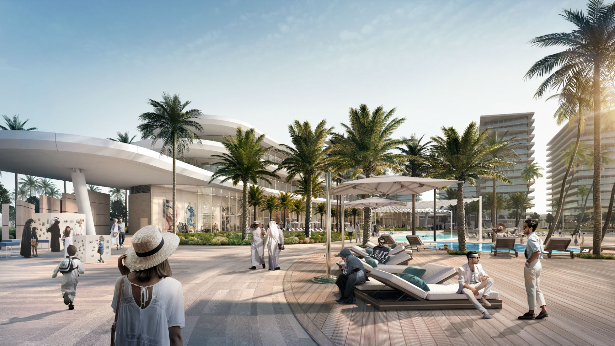 Qetaifan Projects Beach club