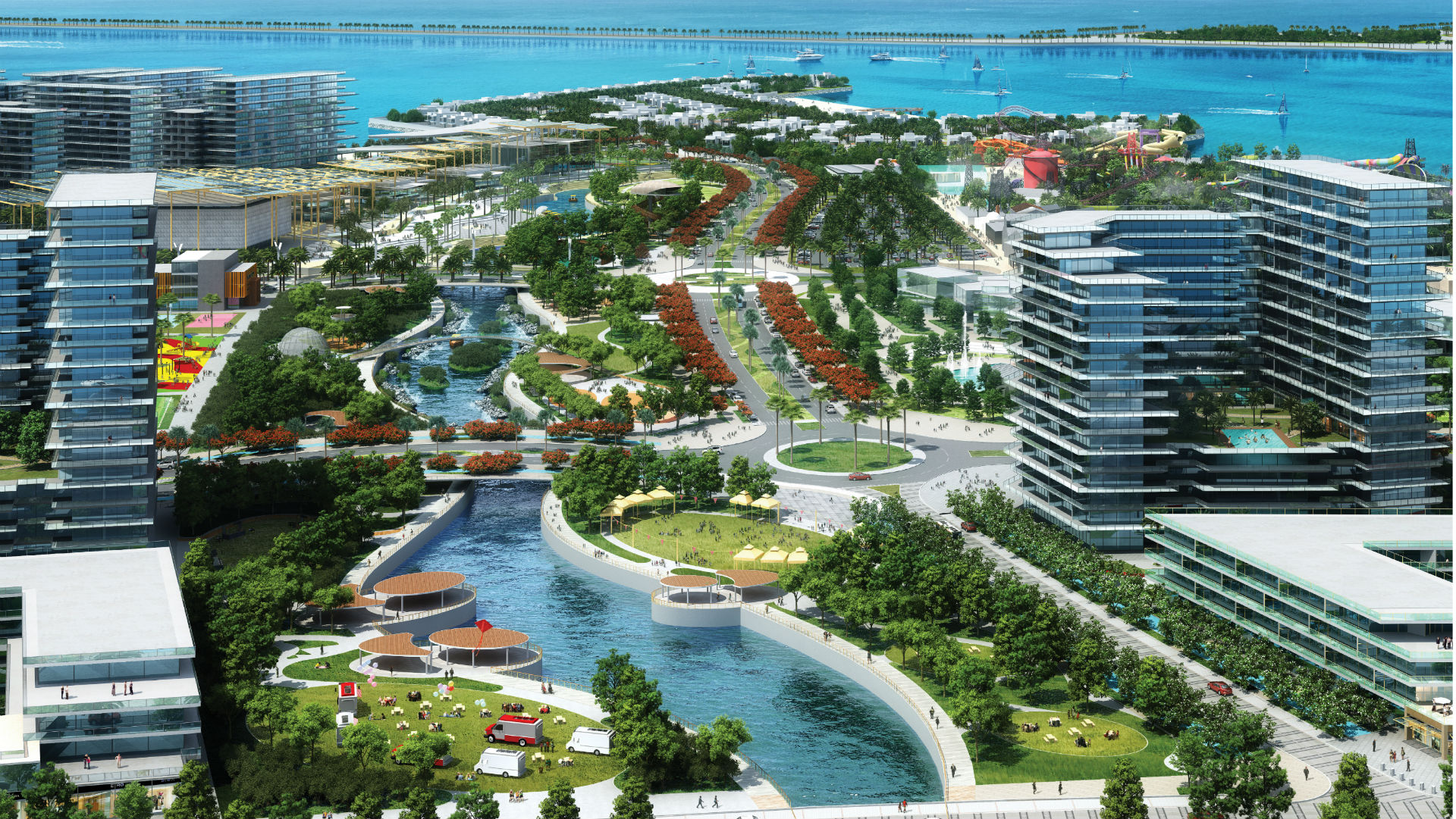 Qetaifan Projects Linear Park