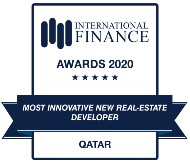INTERNATINAL FINANCE AWARDS 2020 - MOST INNOVATIVE NEW REAL-ESTATE DEVELOPER