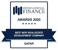 GLOBAL BUSINESS OUTLOOK AWARDS 2020 - QETAIFAN PROJECTS BEST REAL ESTATE COMPANY QATAR WINNER